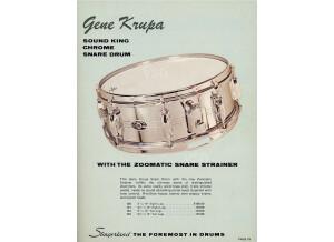 """Slingerland Gene Krupa 14x6.5"""" Sound King"""