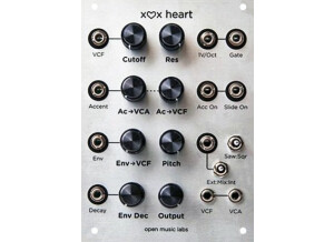 Open Music Labs Xox Heart