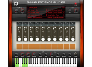 Sample Science Player