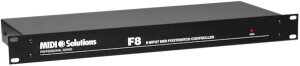 Midi Solutions F8 8-input MIDI Footswitch Controller