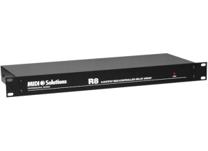 Midi Solutions R8 8-output MIDI-controlled Relay Array