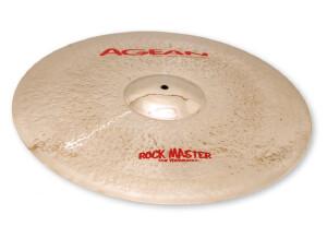 """Agean Cymbals Rock Master Crash 19"""""""