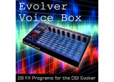 28 programmes d'effets pour DSI Evolver