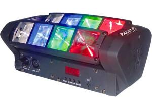 Ibiza Light Mini spider led 8x3w