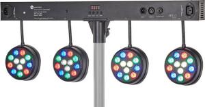 Fun Generation LED Pot System Bar 48x1W RGBW
