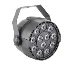 Lightmaxx LED NANO PAR black 12×1W LED RGBW