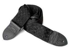 Fender Jacquard Black Satin Diamond