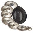 Vend pack cymbales Eagletone serie Cronos avec Housse NEUVES