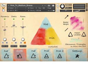 Inouï Samples Harmonic Triangles