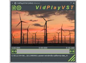 VidPlayVST Multi-Format Video Player VSTi Plugin