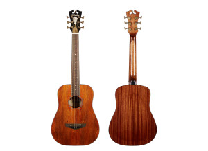D'angelico Premier Utica Mahogany Top Arched Back