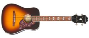 Epiphone Hummingbird Tenor Acoustic/Electric Ukulele