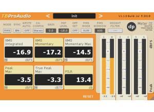 TBProAudio dpMeter 3