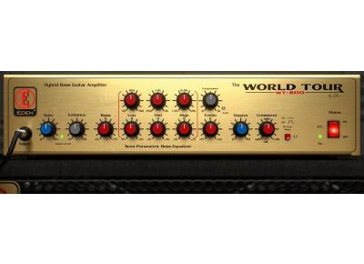 Offre express sur le plug-in Eden WT-800 chez Softube