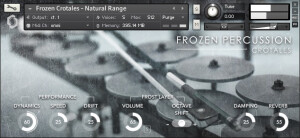 Fracture Sounds Frozen Percussion: Crotales
