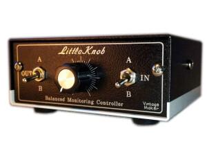 VintageMaker Little Knob 2x2 - Passive Discrete Monitor Volume Controller