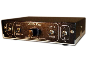 VintageMaker Little Knob 2x2 - Phase/Mono - Passive Discrete Monitor Volume Controller Switcher