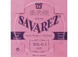 Savarez Sol 3 filé métal argenté 527R tension forte