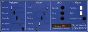 Digital Systemic Emulations Emulator I