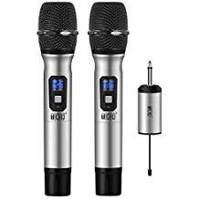 Tonor Tonor Microphone sans Fil 25 Canaux UHF