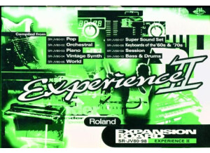 Roland SR-JV80-98 Experience II