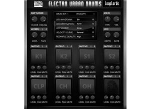 LoopLords Electro Urban Drums