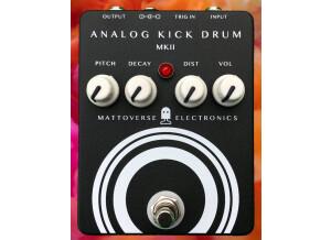 Mattoverse Electronics Analog Kick Drum MKII