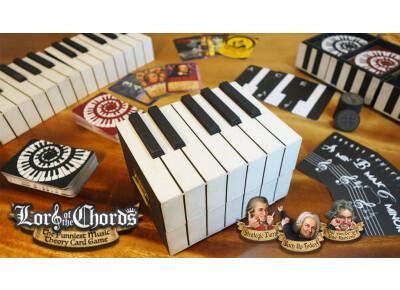 Un jeu de cartes sur Kickstarter pour apprendre la théorie musicale