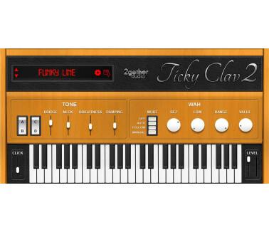 2getheraudio Ticky Clav 2