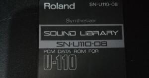 Roland SN-U110-08 : Synthesizer