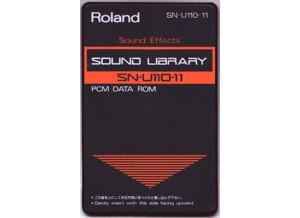 Roland SN-U110-11 : Sound effects