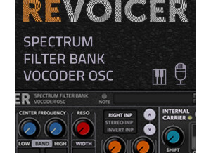 TURN2ON ReVoicer Filter-Bank Vocoder Osc