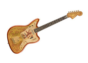 Fender Game of Thrones House Lannister Jaguar