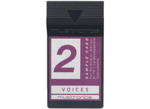 Musitronics GmbH Roland U-110 sample card 2.Voices.
