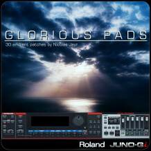 Barb and Co Glorious Pads Roland Juno-Gi
