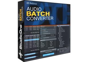 PreSonus Audio Batch Converter