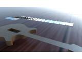 Un nouveau moyen de construire une touche de guitare