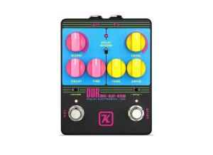 Keeley Electronics DDR – Drive Delay Reverb – 'Hot Neon' Custom Shop Edition