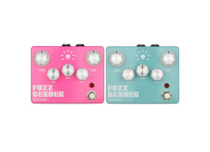 Keeley Electronics Fuzz Bender – Bubblegum Pink / Surf Green Custom Shop Edition
