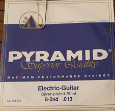 Pyramid Strings Silver-Plated Steel