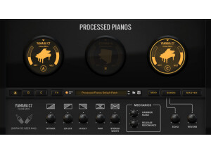 Reason Studios Processed Pianos Rack Extension