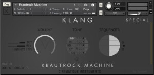 Cinematique Instruments Krautrock Machine