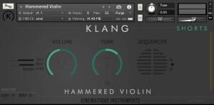 Cinematique Instruments Hammered Violin