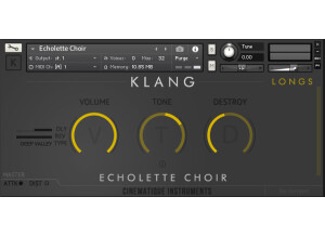 Cinematique Instruments Echolette Choir