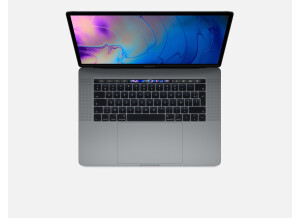 """Apple mac book pro 15"""" touch bar I7 2.9GHz 16Go 2To"""