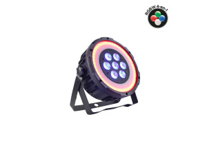 Power Lighting PAR 7x10W Quad Ring