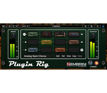 Nembrini Audio Plugin Rig