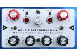 Mattoverse Electronics Double Gate Drone Synthetizer MKIV