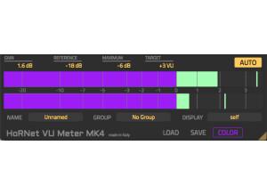 Hornet Plugins VU Meter MK4