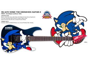 LTD SN-25TH Sonic The Hedgehog Guitar-II